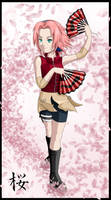 Haruno Sakura -colored-