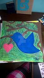 Blue Bird -In Loving Memory-