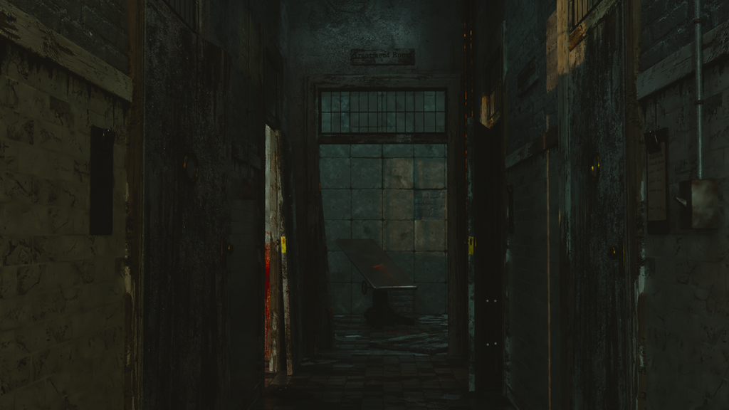 Hallway to Hell by IamaGenious