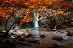 autumn river by Milie-Photography