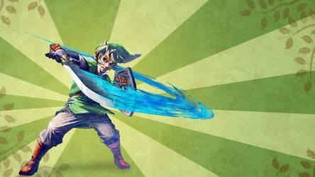 Skyward Sword Link wallpaper by H-Thomson