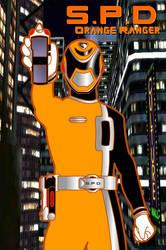 SPD Orange Ranger by RiderB0y