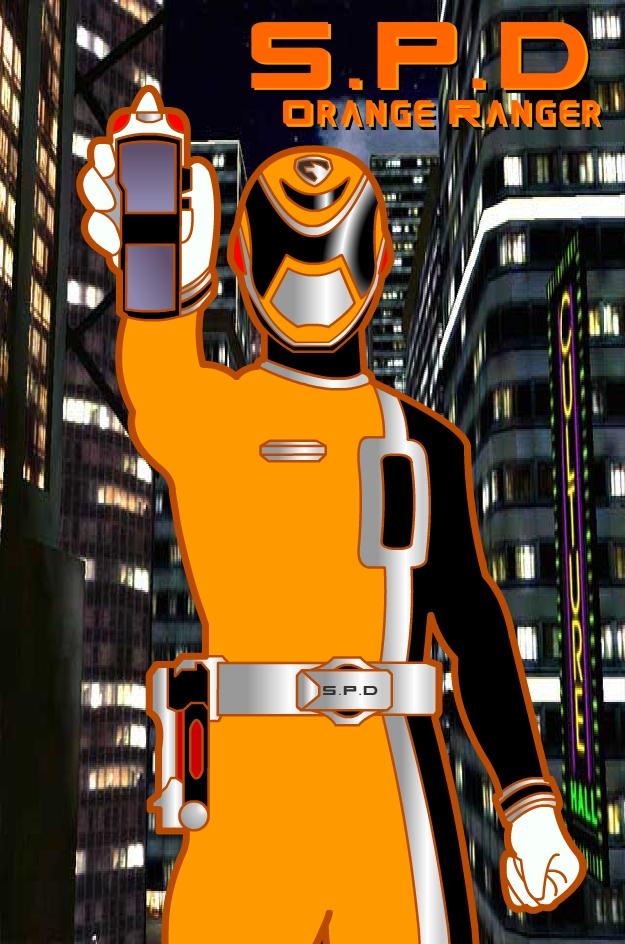 spd orange ranger by riderb0y on deviantart