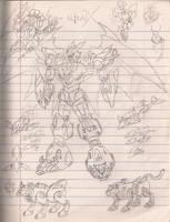Voltron X by RiderB0y