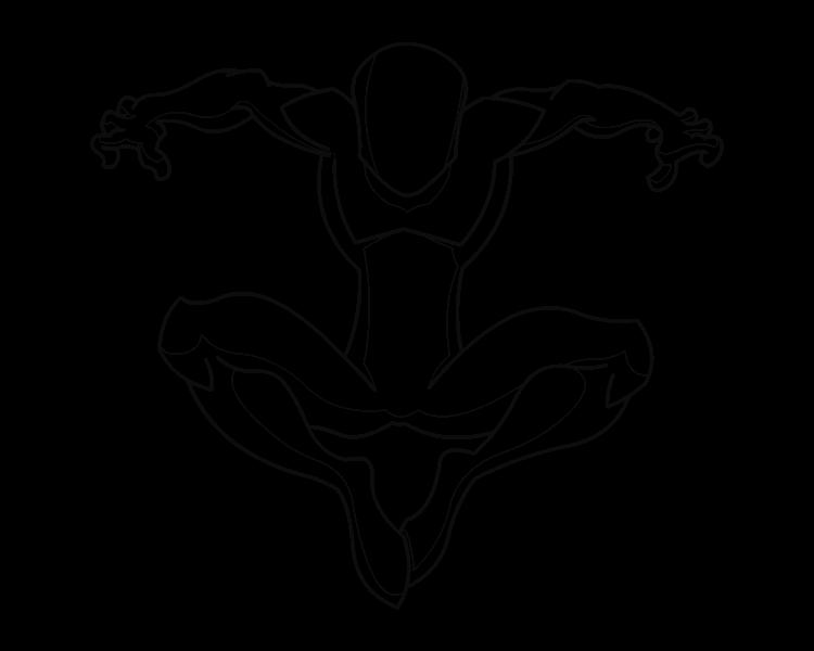 spiderman template - Dorit.mercatodos.co