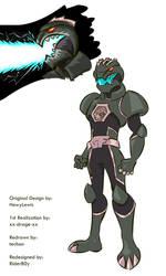 Godzilla Ranger by RiderB0y