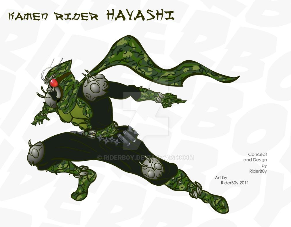 Kamen Rider Hayashi by RiderB0y