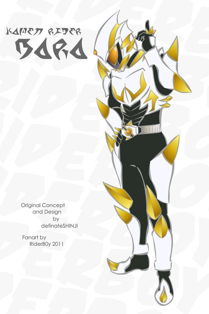Kamen Rider Bara by RiderB0y