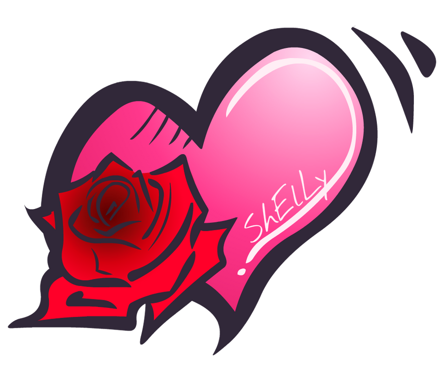 Romanticno srce - Page 5 Rose_in_a_heart_by_riderb0y-d4lozgs