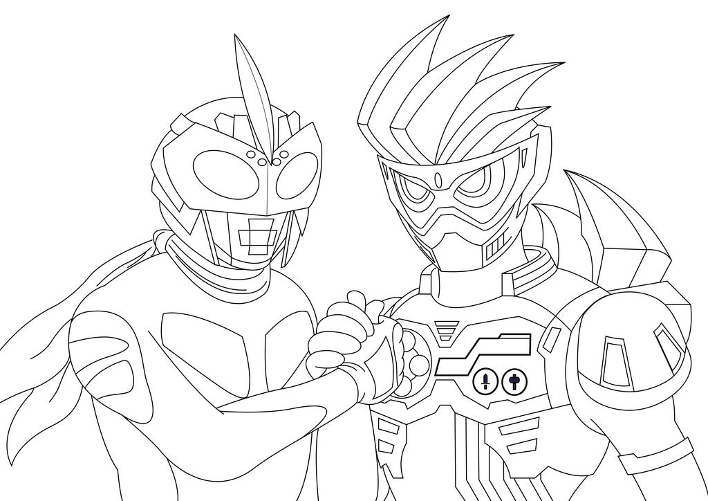 kamen rider coloring pages - photo#48