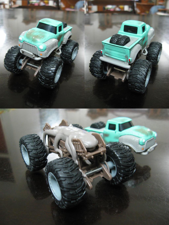 Creech From Monster Trucks By On Deviantart