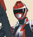 A-Squad 1 Red Ranger