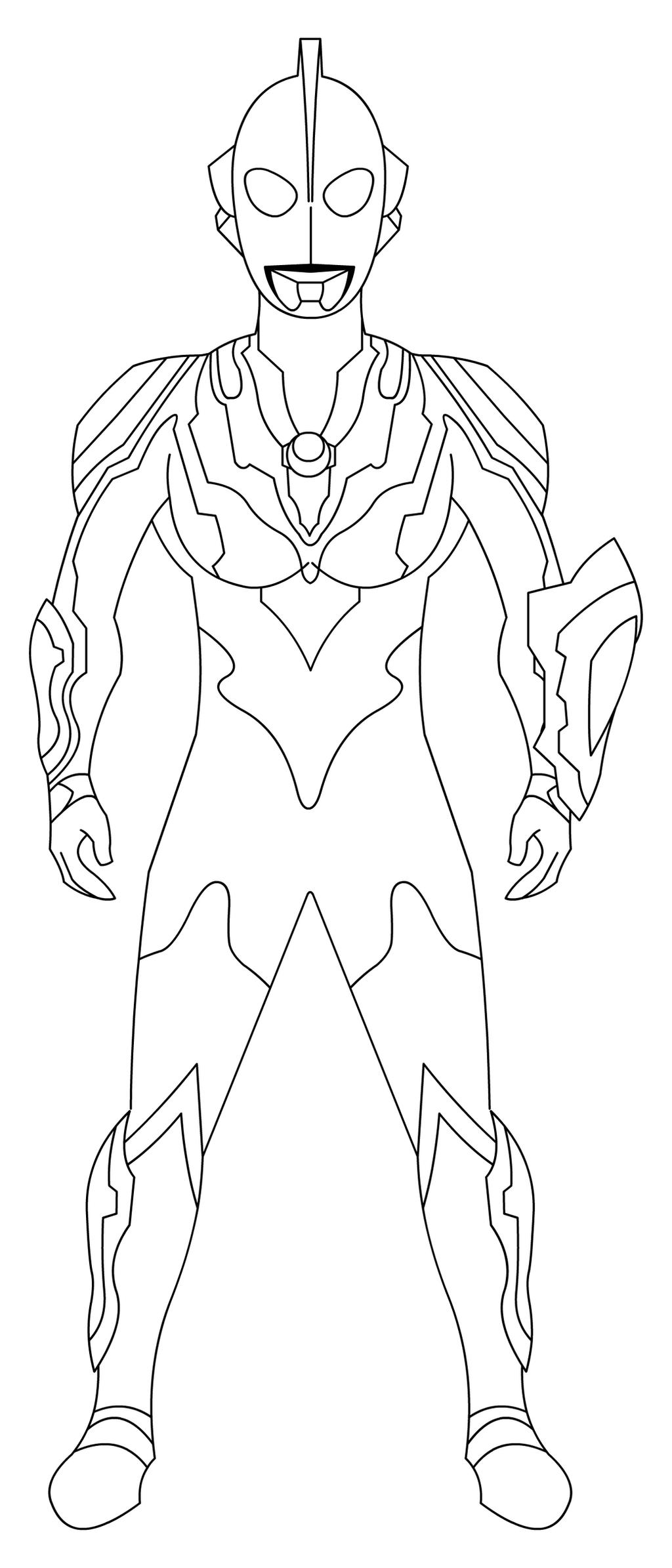 Ultraman Ribut Coloring Page 02 By Riderb0y On Deviantart