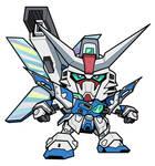 SD Gundam Artemis by RiderB0y