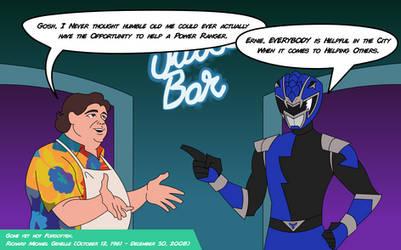 Ernie Helps HyperForce Blue