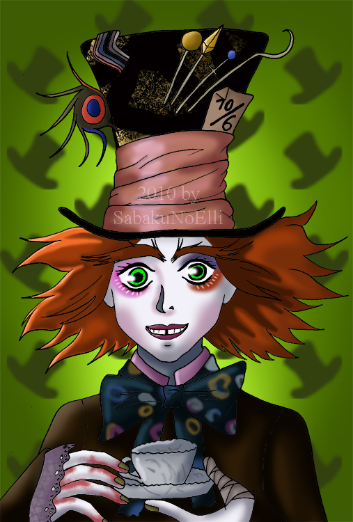 The Mad Hatter by Elythe