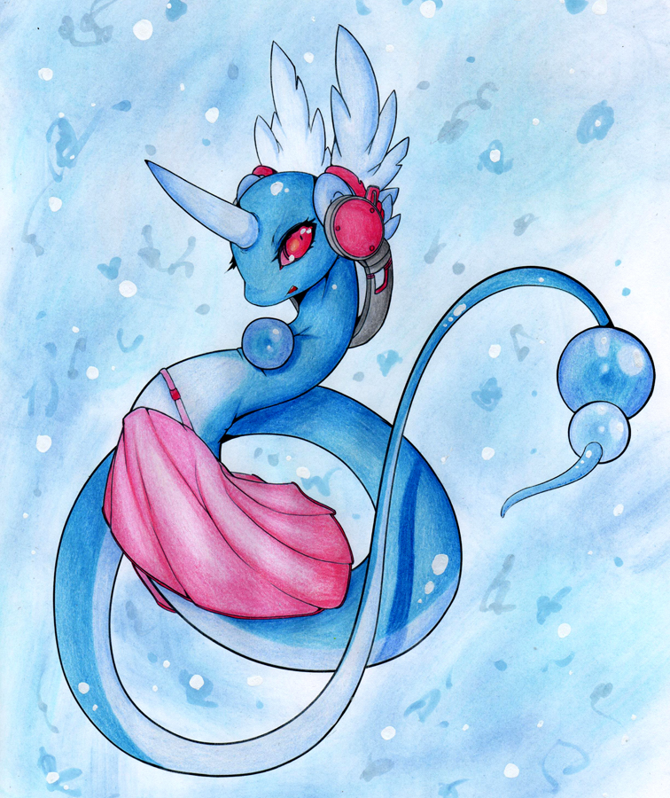 Download Anime Emergence: :COLLAB: Dragonair Used Whirlpool By Elythe On DeviantArt