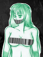 Barcode-Sketch by Elythe