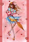 :COLLAB: Umbrella-Girl by Elythe