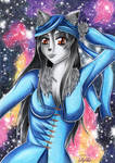 Violet Galaxy by Elythe