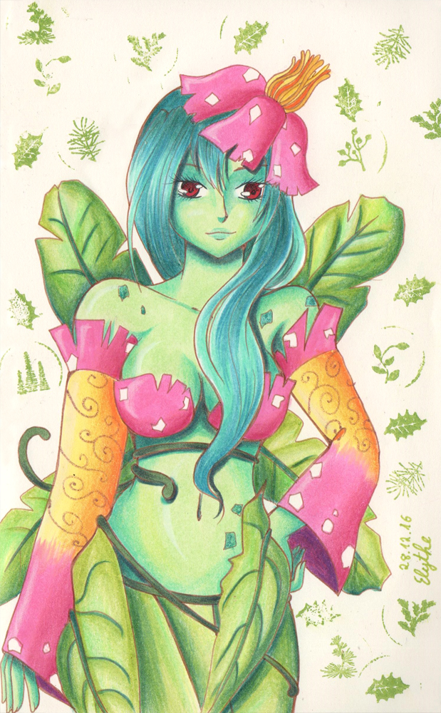 Venusaur Lady by Elythe