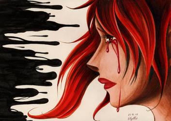 Blood Tears by Elythe