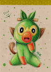FEED ME } Grookey by Elythe