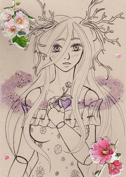 :AT: Gemdoll Sketch Exchange: Beauty
