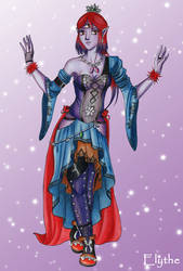 Spider Lady by Elythe