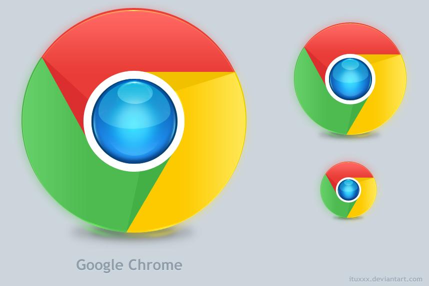 Google Chrome New Logo _Redo