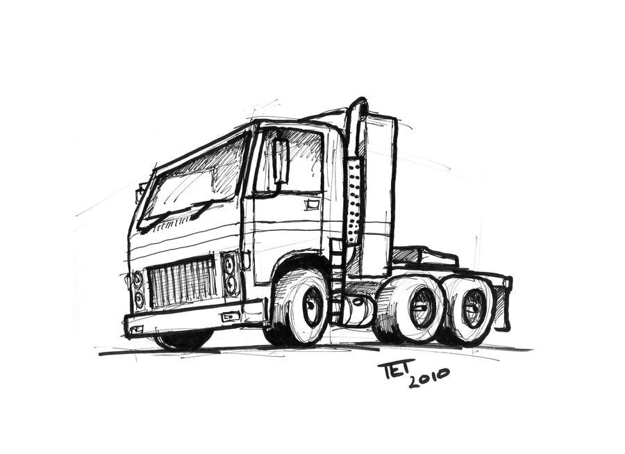 Truck - Semi Trailer Style by etourist on DeviantArt