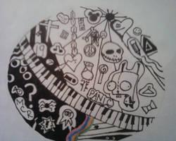 Doodle by melencholyart19