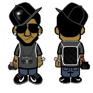 My Bape toons by SilentGorilla
