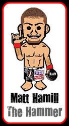 Bape Matt Hamill UFC fighter by SilentGorilla