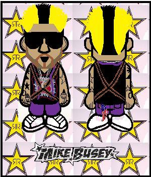 Mike Busey Bape by SilentGorilla