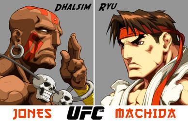 UFC 140 by SilentGorilla