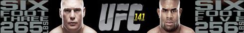 ufc 141 Facebook banner by SilentGorilla