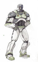 Buzz Lightyear, redesigned by MissLizz