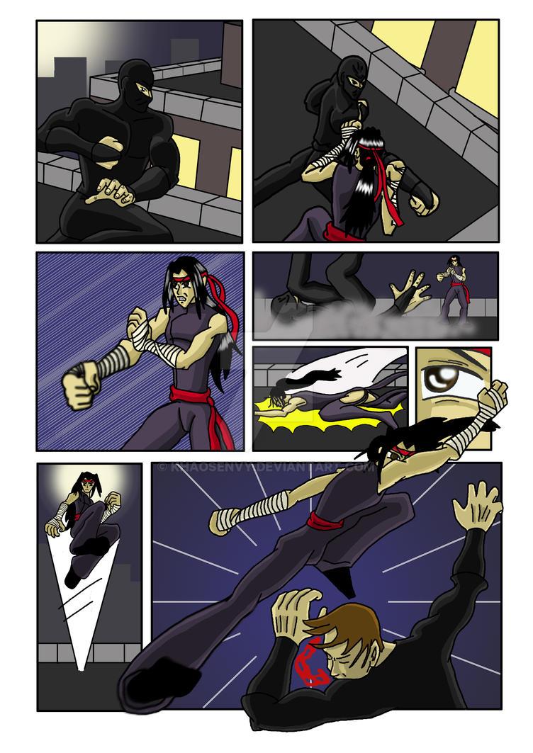 Hiya comic by Khaosenvy