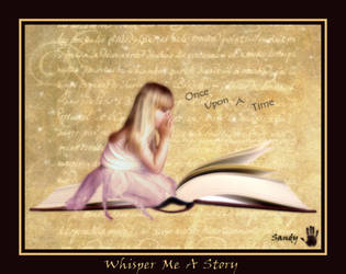 Whisper Me A Story by sandpiperw