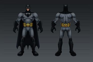 Batman Heroic by CaseyD2K