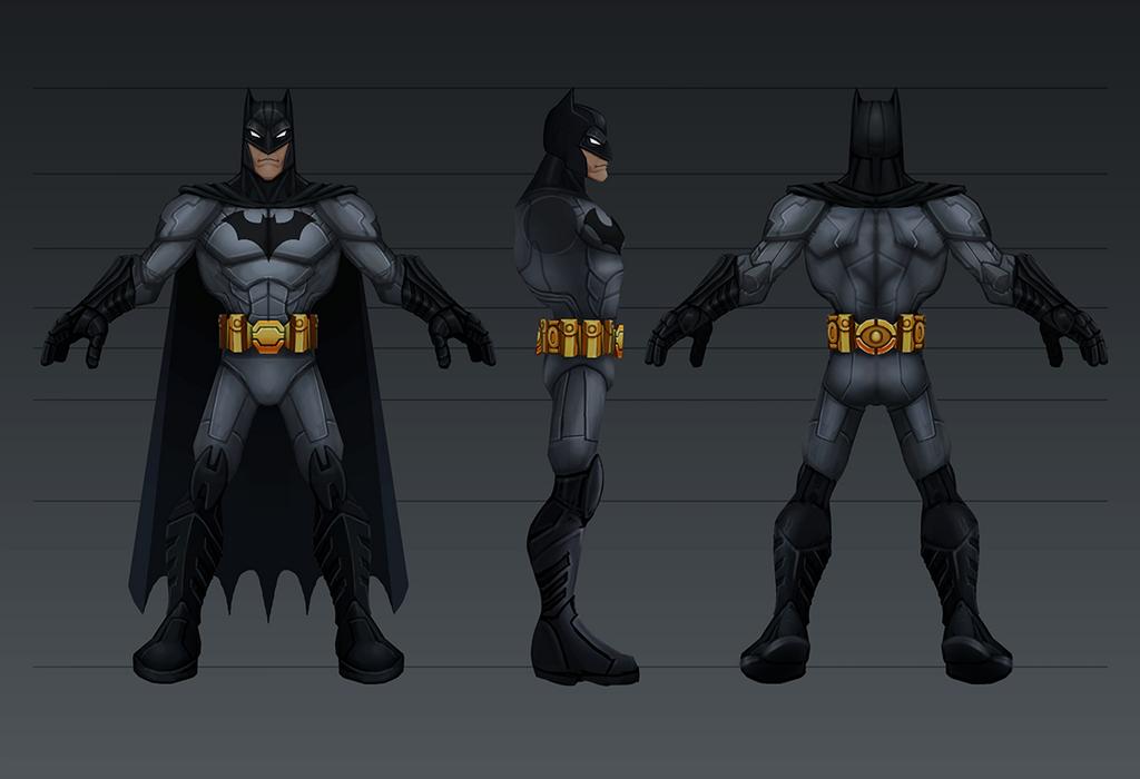 Batman Toon by CaseyD2K