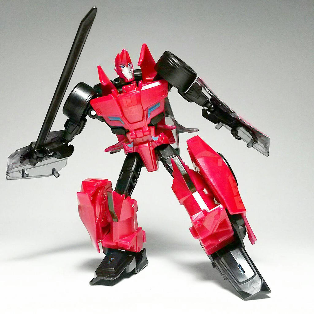 Transformers Robots In Disguise 2015 Sideswipe By