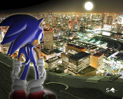 Sonic Tokyo Nights by Sigacomer