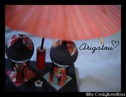 Japanese dolls by ConigliettoRosa