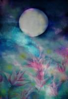 Lotus Moon by ConigliettoRosa