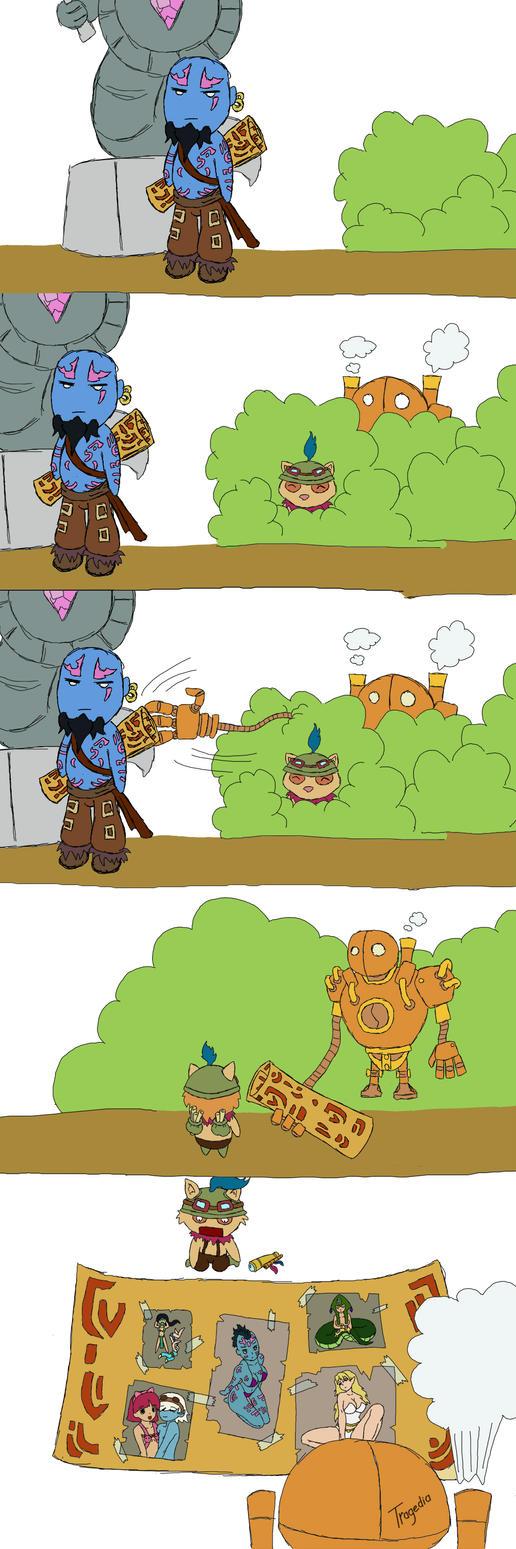 Ryze secret scroll by TragediaIrk