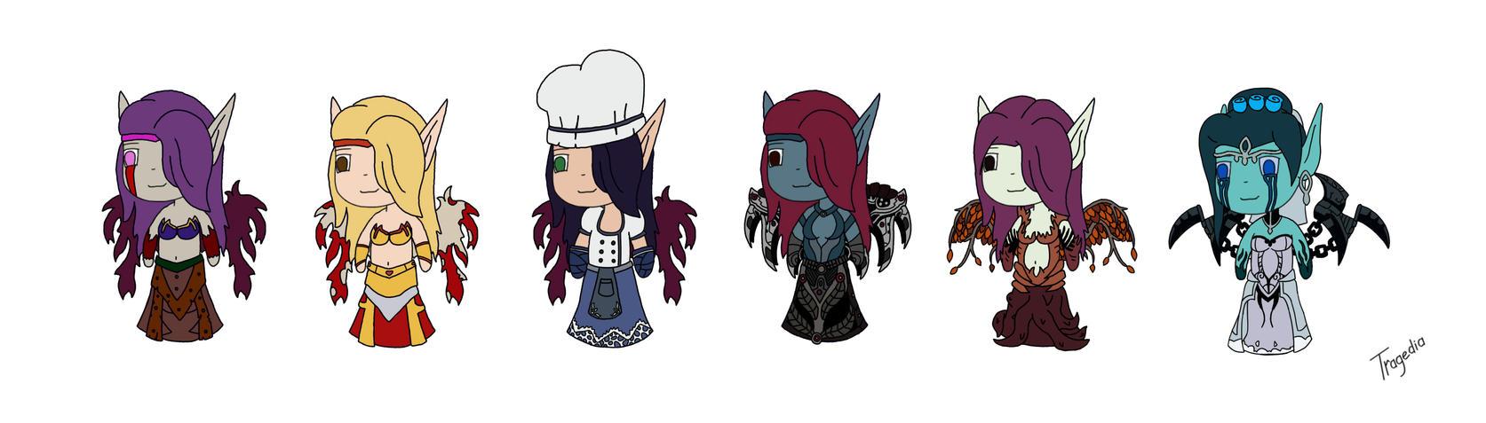 Morgana skins by TragediaIrk