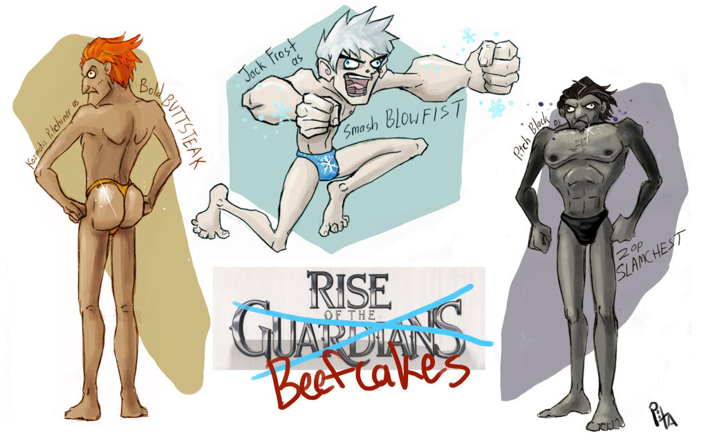 Rise of the Beefcakes by Tenshiryuu
