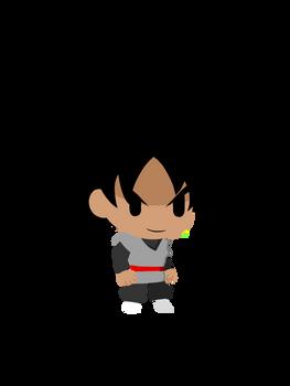Goku Black (JoJos Bizarre Adventure PPP Style)